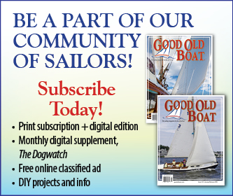 Holiday Specials on Good Old Boat gear