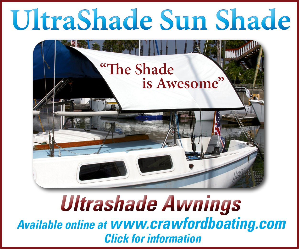Crawford Shade Awning