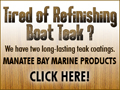 Tired of refinishing your teak?