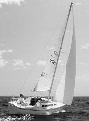 Catalina 27, second boat, 1971