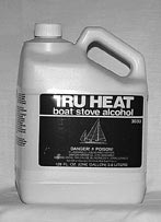 Tru Heat stove alcohol bottle