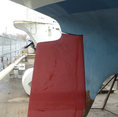 Levity's rudder project, part two