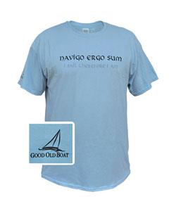 Navigo ergo sum (I sail therefore I am)