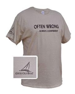 Often wrong... always confident