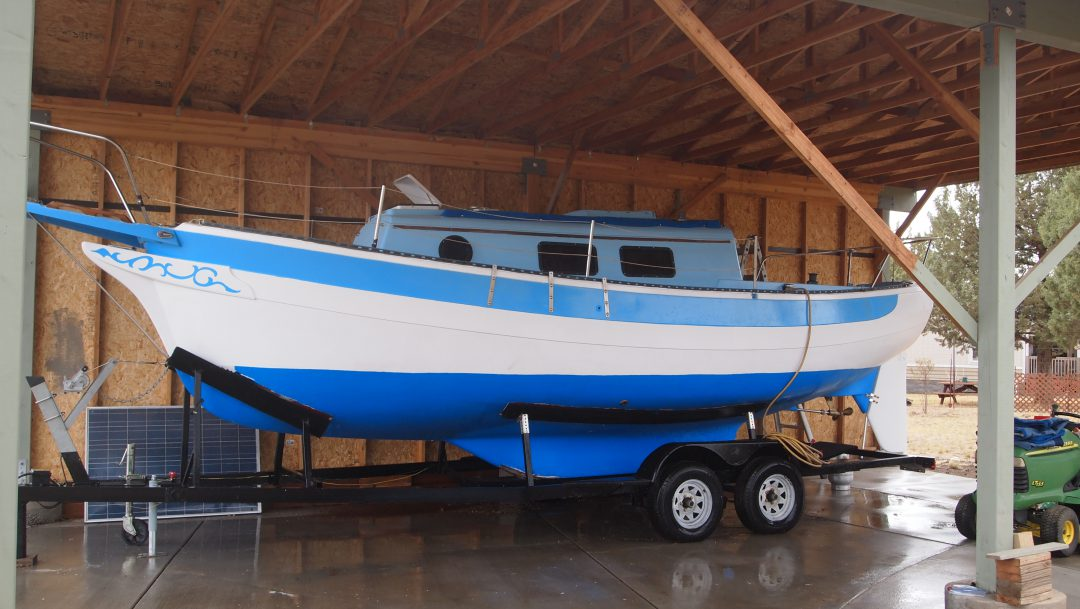 81fa51621 Kent Ranger 26 with Trailer – Good Old Boat