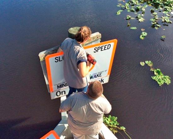 Marker, Charlotte Harbor Florida