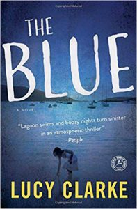 the blue book cover