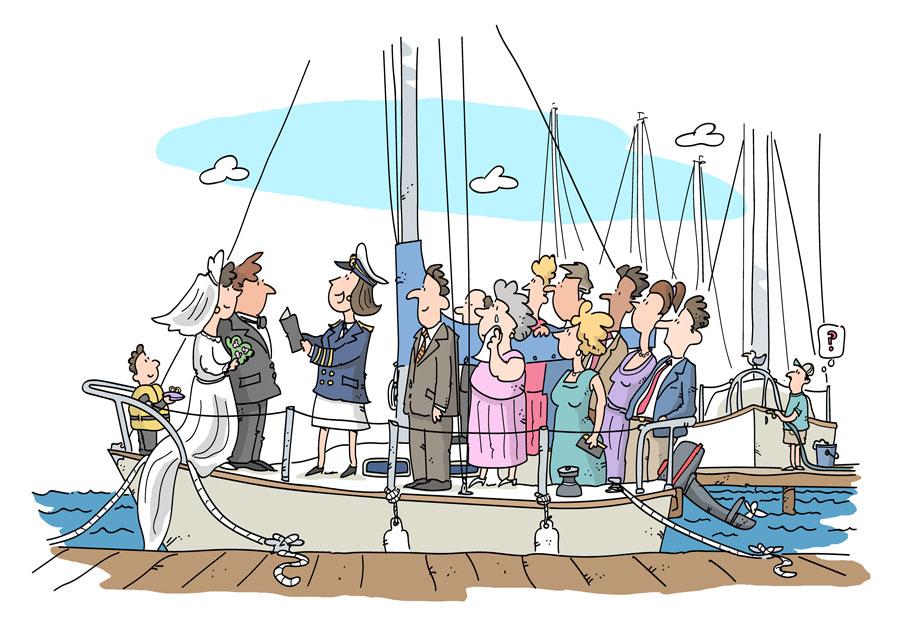 Nautical Vows