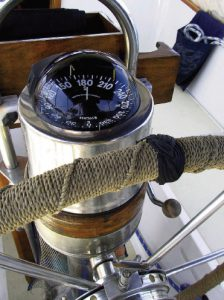 Dress Up the Steering Wheel – Good Old Boat