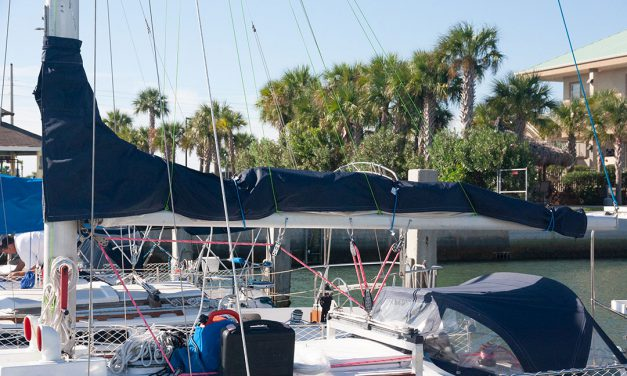 DIY Lazy-jacks: Mainsail Tamers