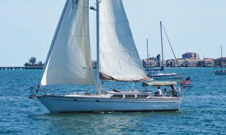 Gulfstar 39 Sailmaster Mk II Boat Review