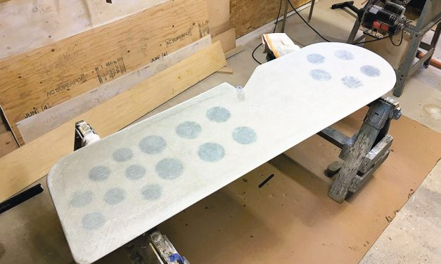 Counter Intuitive – Corian as Core for Centerboard