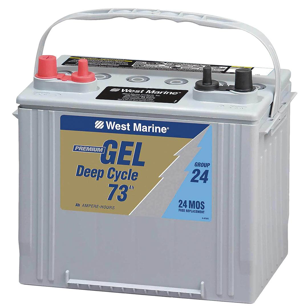 gelled electrolyte battery