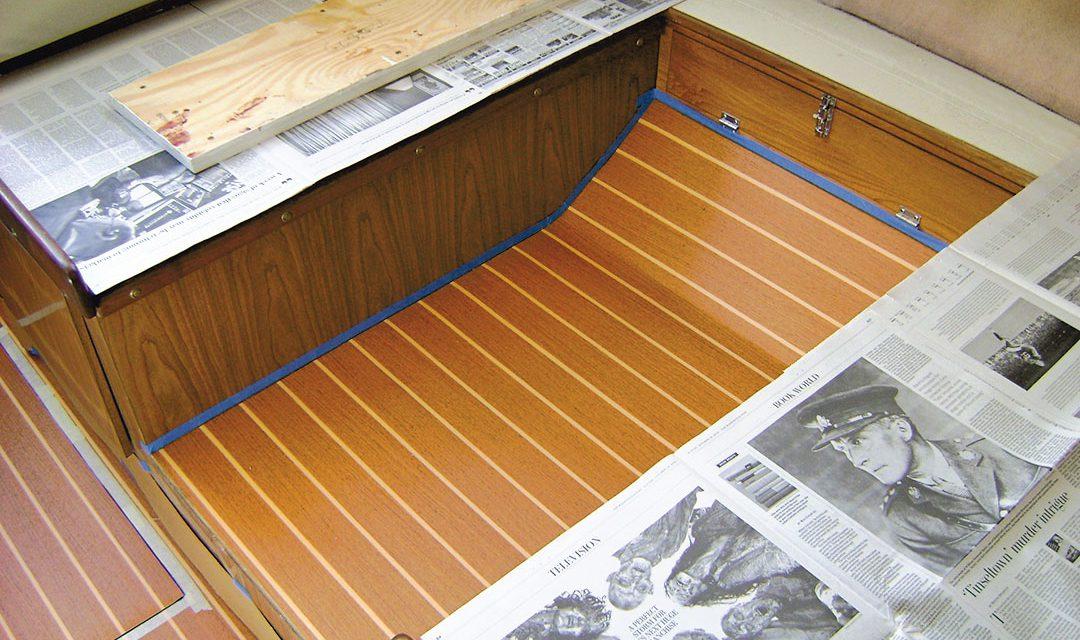 Sole Mate – Vinyl Overlay in Cabin Sole