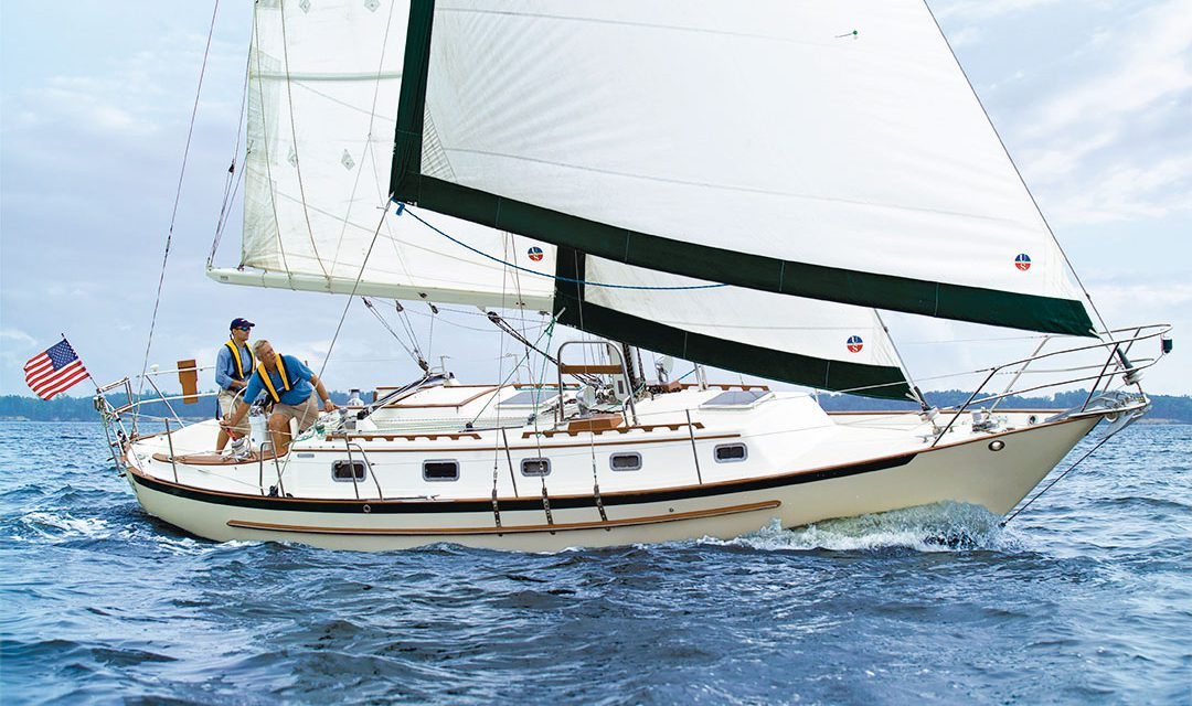 Crealock 37 / Pacific Seacraft 37