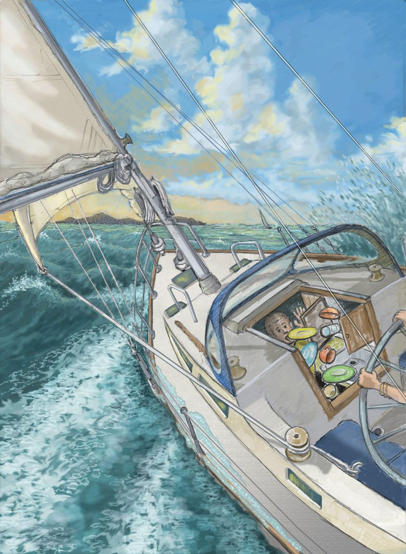 David Carey shares his sailing learning experience