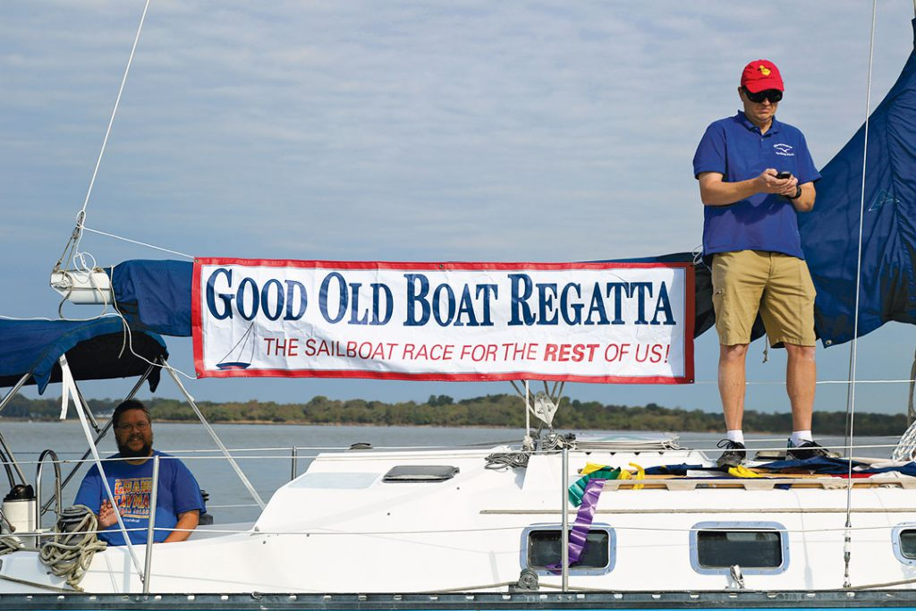 Good Old Boat Regatta banner