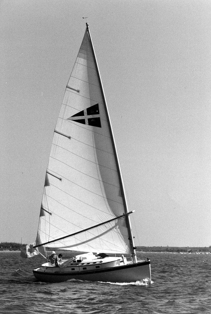 Ellis' Nonsuch sailboat