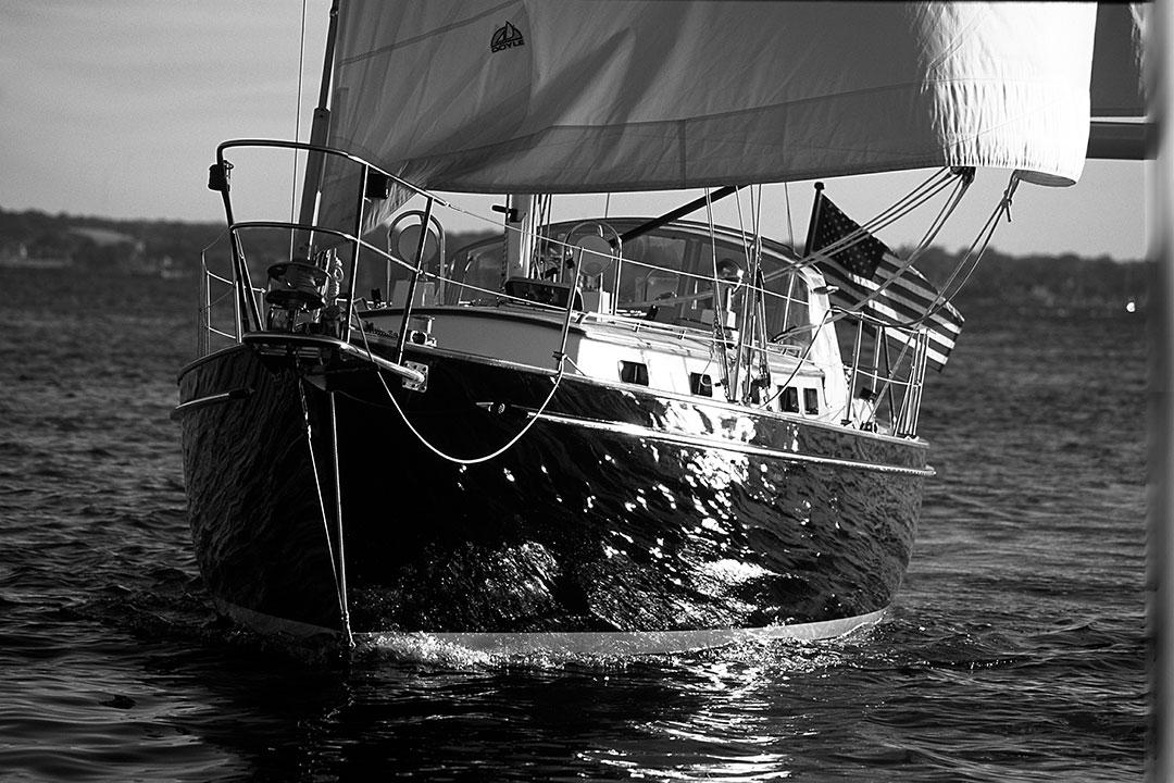 Ellis' Bruckman sailboat