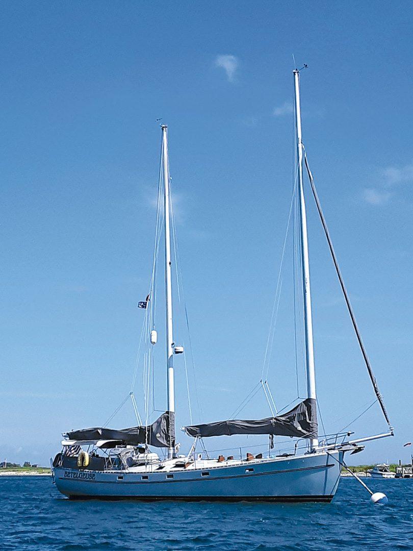 Freedom 44 sailboat