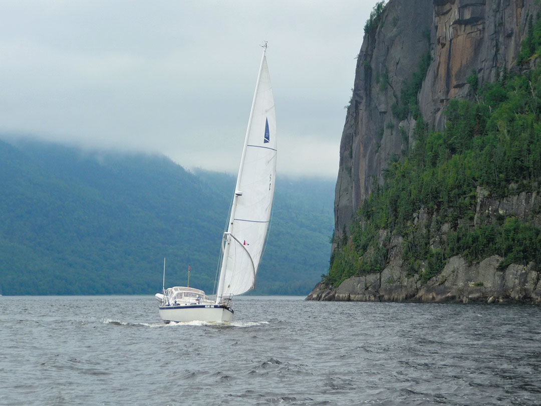 Nonsuch 30 sailboat