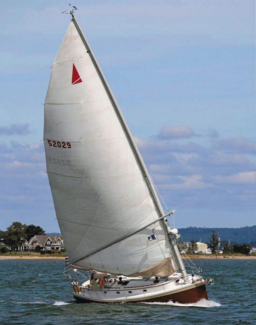 Nonsuch 36 Marconi sail