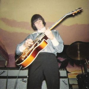 Bob Perry playing guitar