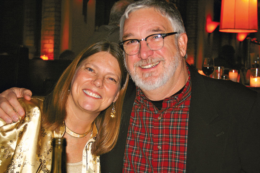 Bob Perry and wife Jill