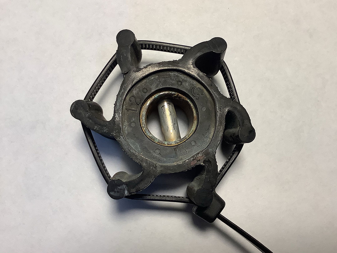 sailboat water pump impeller in