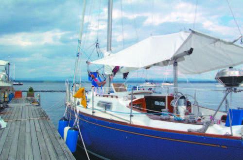pearson 36 sailboat cockpit