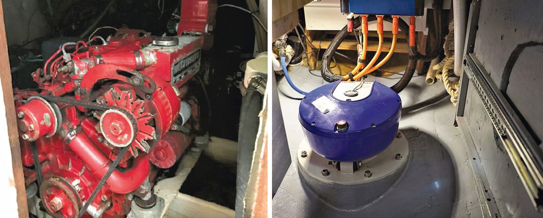 Pearson engine before and after