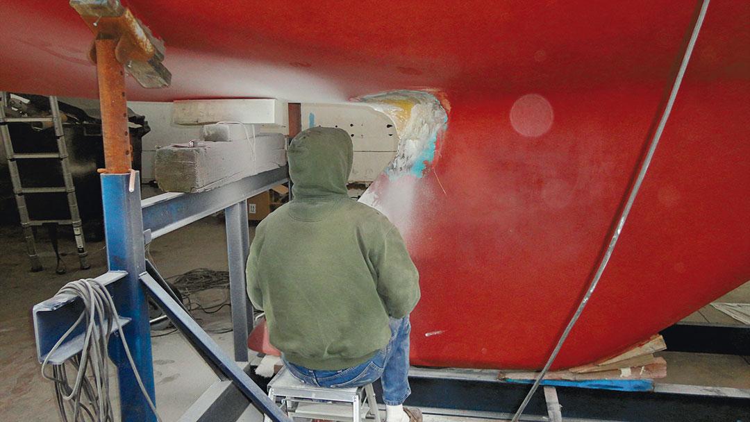 Pearson keel work