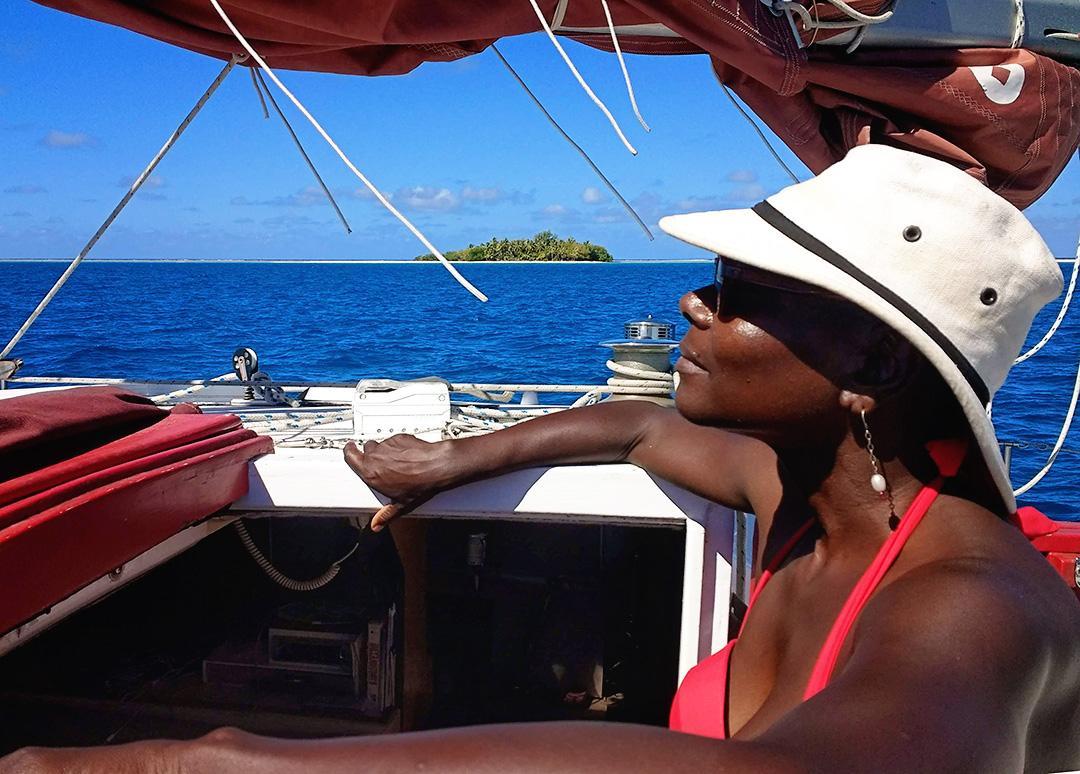 Doreen Gounard african american circumnavigator sailor