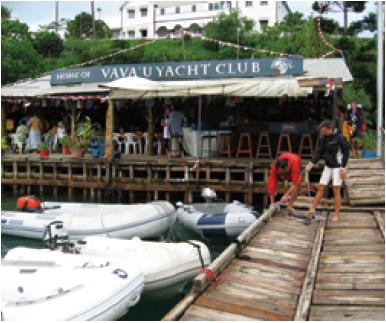 Tonga dock