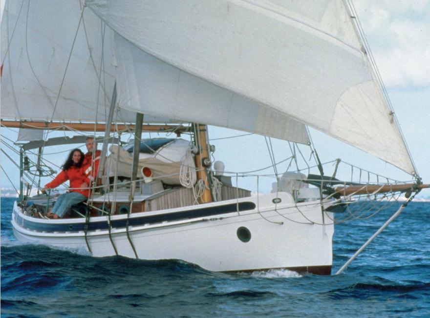 Pardey's boat Taleisin
