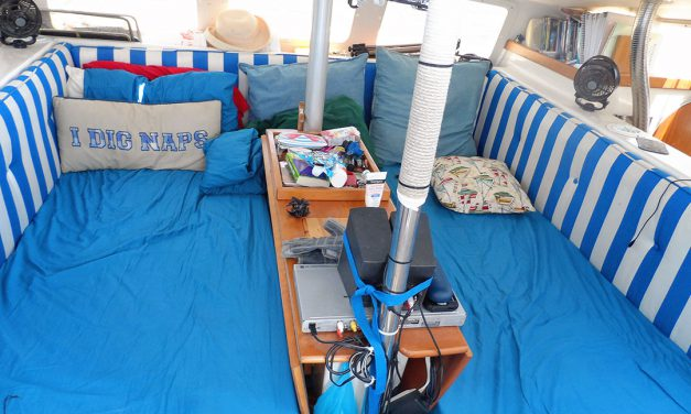 Easy-Peasy, Sailboat Dinette-to-Sleeper Conversion