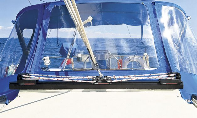 Clear Passage – Moving a Mainsail Traveler